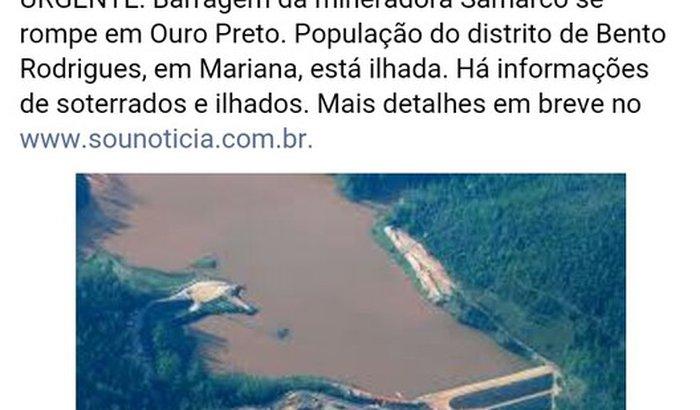 SOS MARIANA MG
