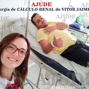 Cirurgia De Cálculo Renal Do Vitor Jaime Vaquinhas Online