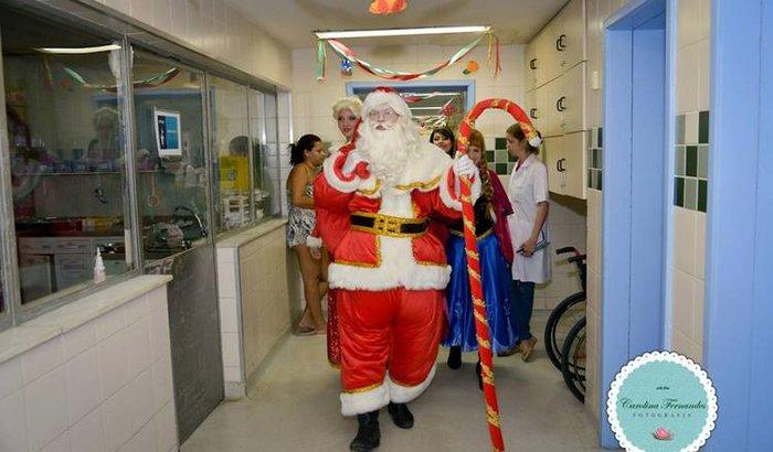 Natal dos moradores de rua e crianças doentes