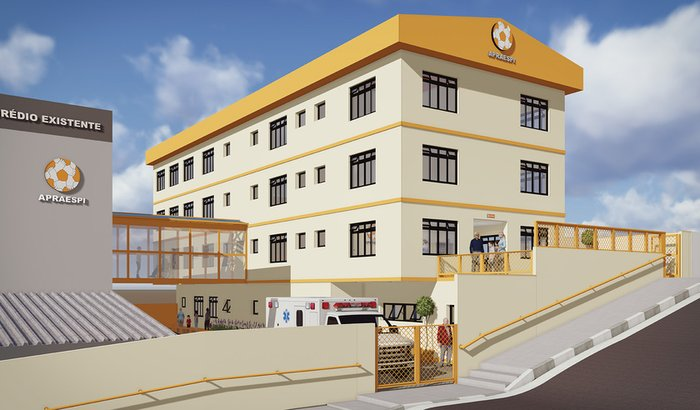 Novo hospital para Pessoas com Deficiência