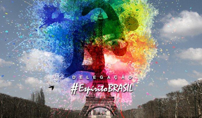 Delegação Paris 2018 Espírito Brasil
