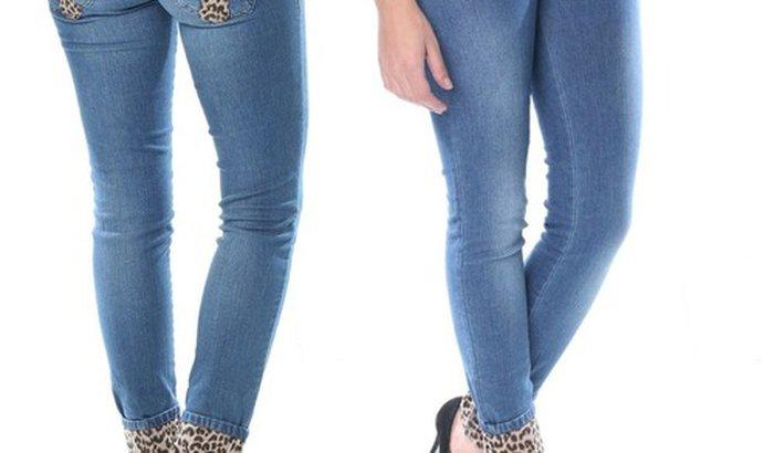 Compra da Calça Jeans da Andreesa