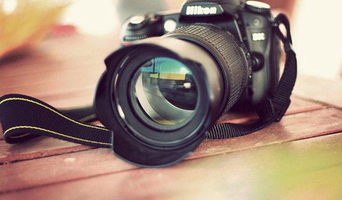 Uma câmera para realizar o meu sonho de ser fotógrafa.