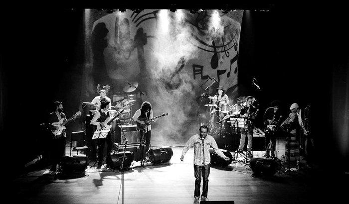 Salloma Salomão e banda Al-Andalus em Notas Tortas da Madrugada