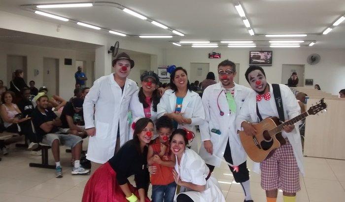 Van para os Doutores do Riso (Ajuda á Crianças com câncer)