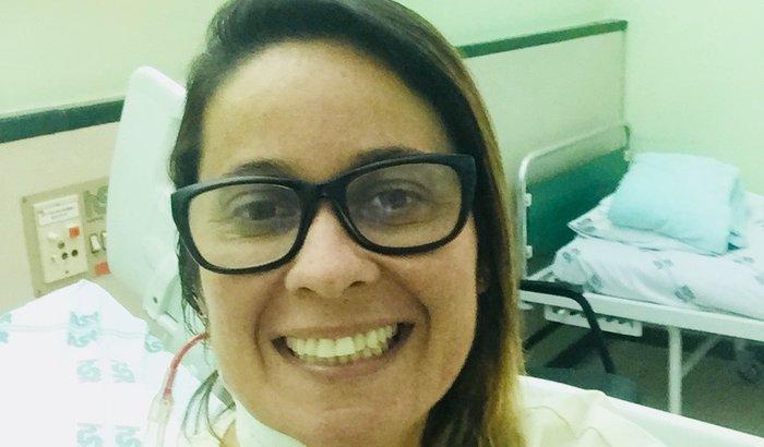 Ajude a nadadora Veronica Almeida continuar o tratamento