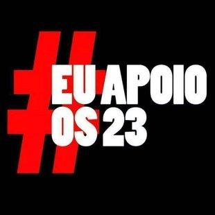Cover eu apoio os 23
