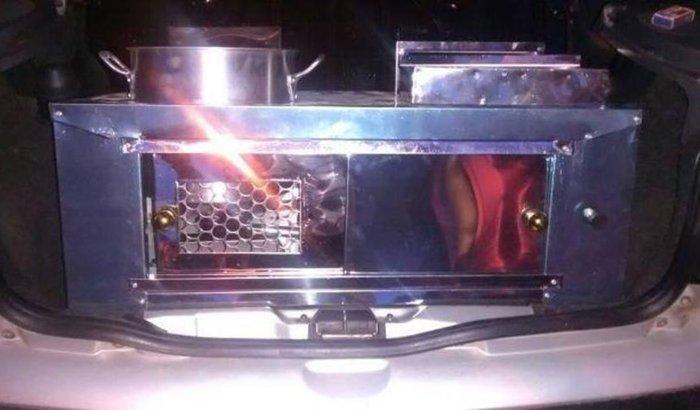 Maquina de churros pra carro