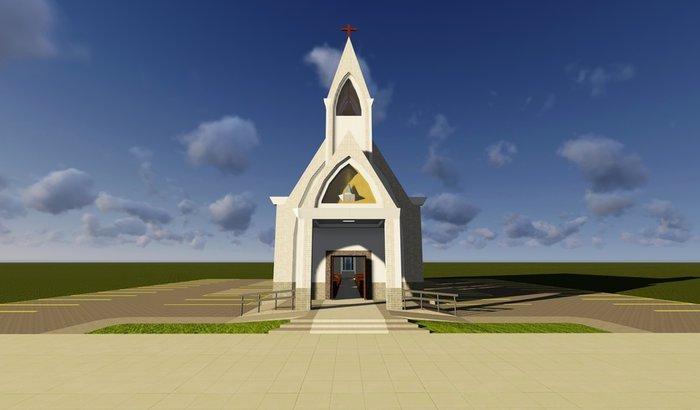 Ajudar na construção da nova Igreja de Luzelândia