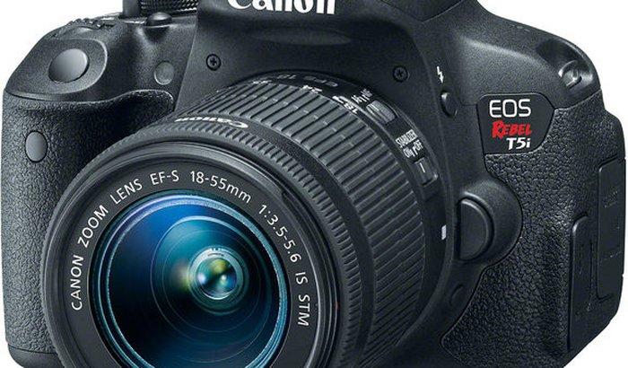 Câmera Semi-Profissional para curso