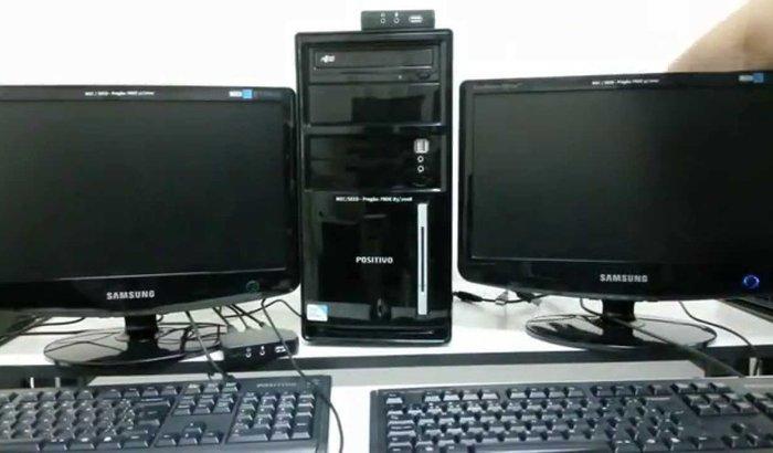 Compra de materias para laboratório de Informática