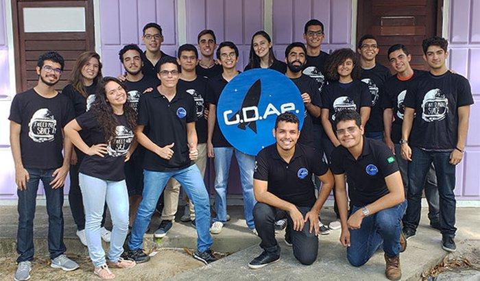 Lançamento do primeiro foguete híbrido cearense em Curitiba