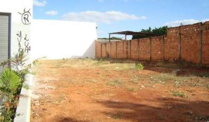 Construção da igreja em Brasília