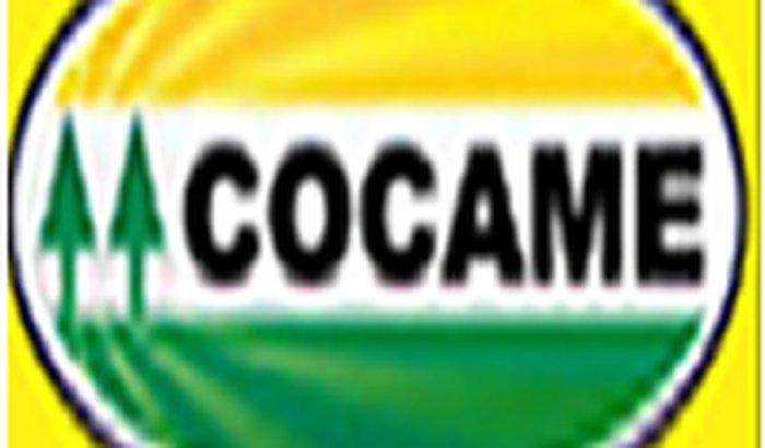 Prensa hidráulica para cooperativa de catadores COCAME