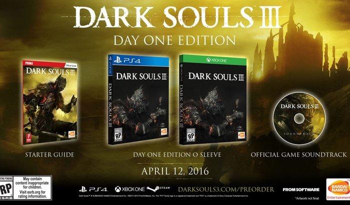 Dark Souls 3 - Presente de aniversário