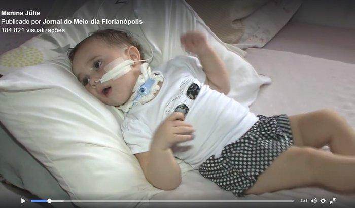 Tratamento da Julia Agatha Vieira  de 1 aninho