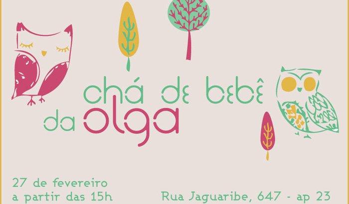 Chá de Bebê da Olga