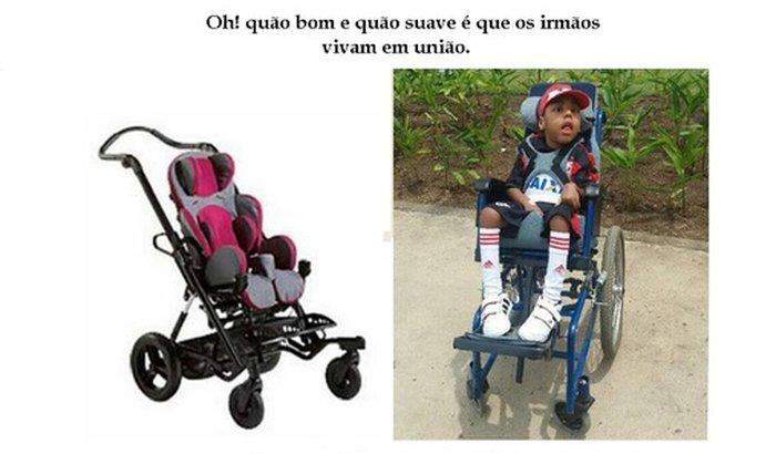 Cadeira de Rodas para o Bernardo