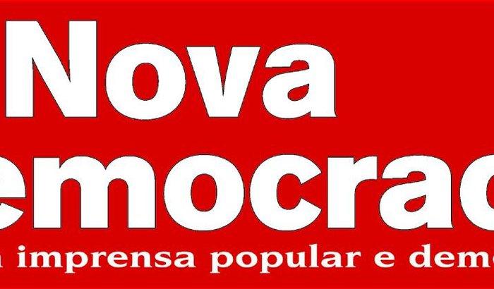Reposição de Equipamentos do jornal A Nova Democracia