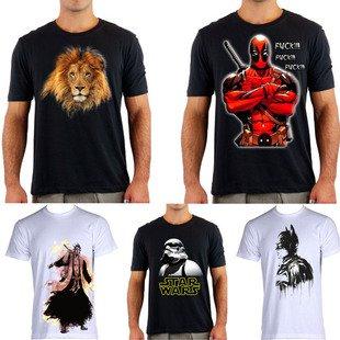 loja de camisetas personalizadas Atom - Vaquinhas online  344d898d3da