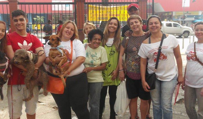 Doação para o Abrigo São Francisco de Assis