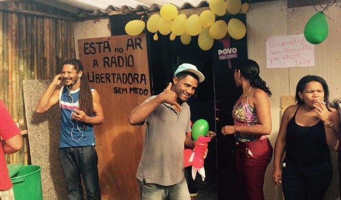 Reconstruir a Rádio Libertadora Povo Sem Medo do Capão
