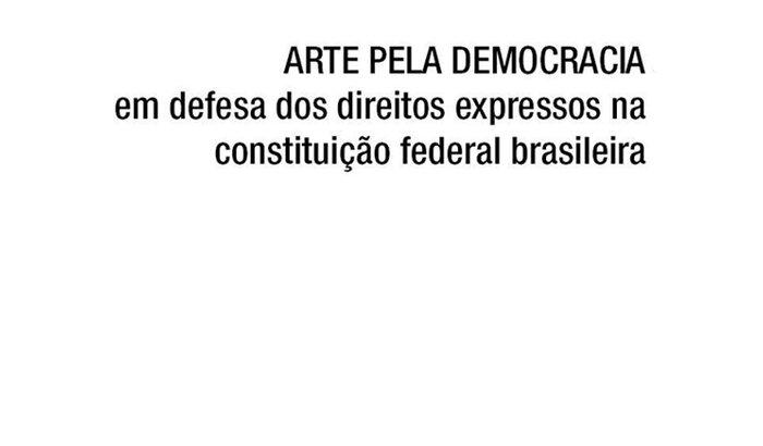 Impressão de cartazes SP / #ARTEPELADEMOCRACIA