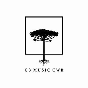 Cover avatar logo c3 f branco