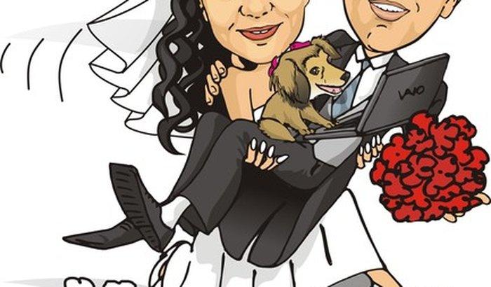 Casamento da Luanna e do Carlos