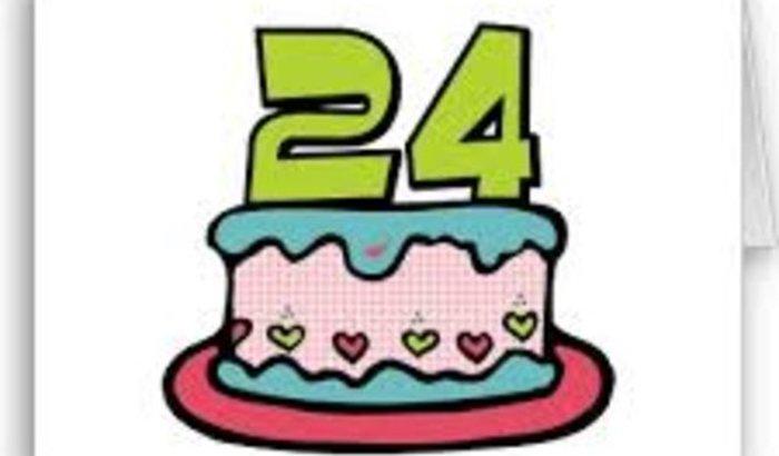 Festa de 24 anos