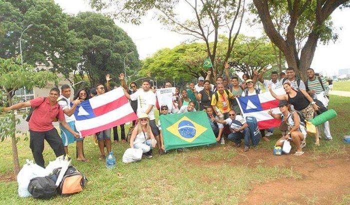 Caravana do Impeachment, Salvador-BA X Brasilia-DF.