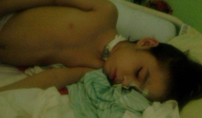 Antonio Sampaio Filho, criança especial que necessita de ajuda