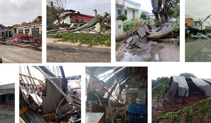 Apoio às vítimas do Ciclone Tropical  Idai, em Moçambique.