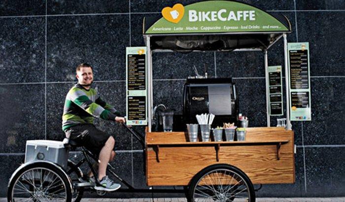 Minha cafeteria sobre rodas
