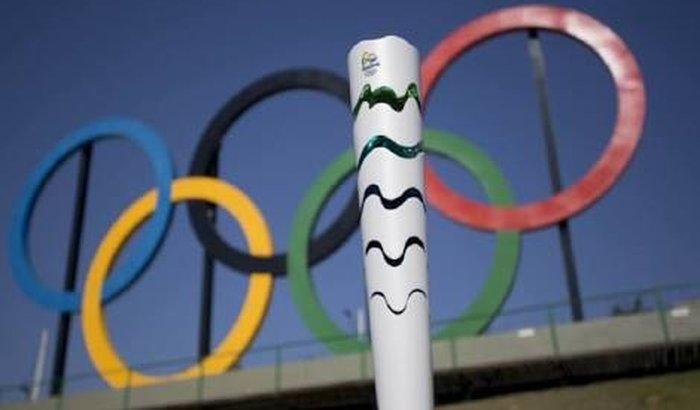 Compra da tocha olímpica