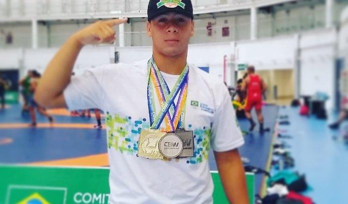 Participação do atleta alagoano nos jogos panamericano em Guatem