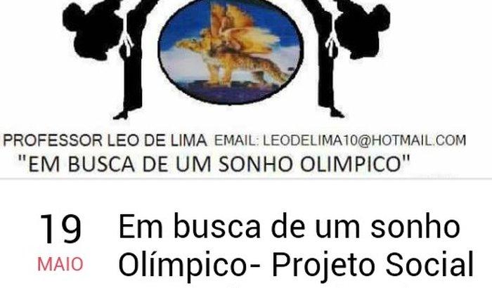 Em busca de um sonho olímpico- projeto social leopardos Taekond