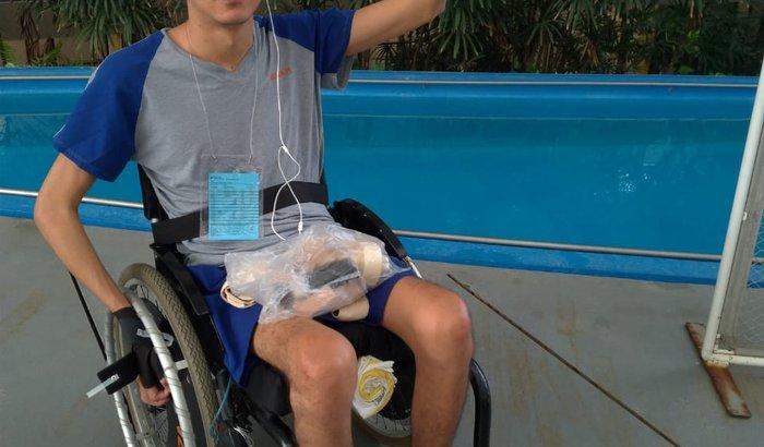 Ajude o Rafa na compra da nova cadeira de rodas
