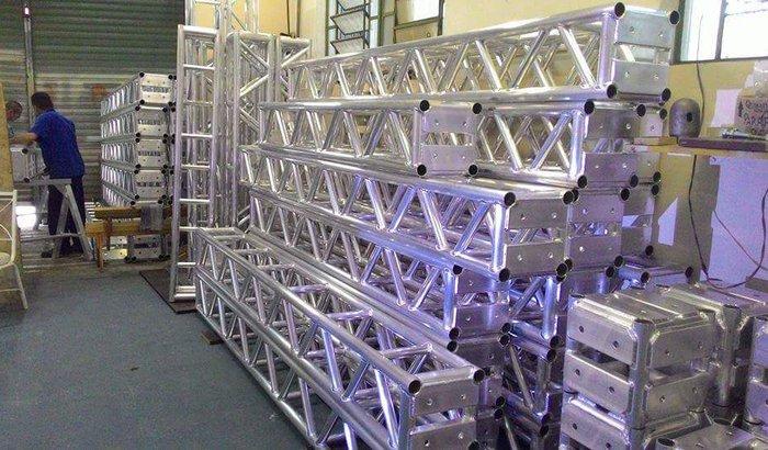 Estruturas de aluminio