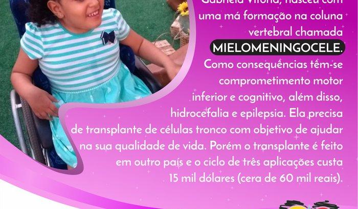 Gabriela Vitória - Células Tronco