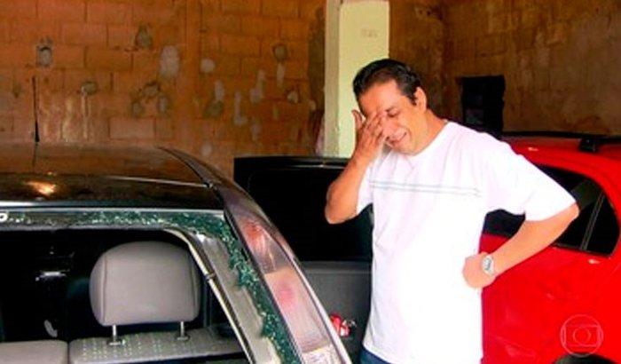 UM BEM PELA INJUSTIÇA CAUSADA TAXISTA DESTRÓI CARRO DE MEDICO