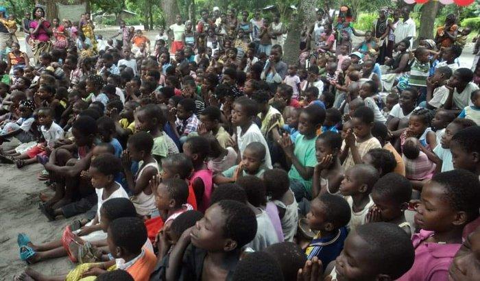Alegria em Moçambique
