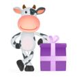 Thumb vaca com presente1