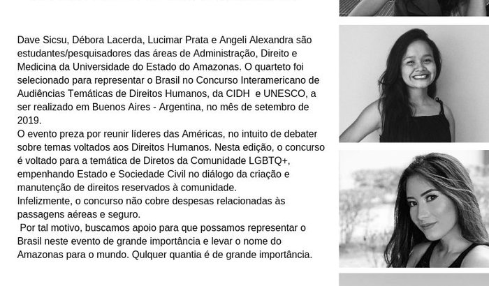 AMAZONAS REPRESENTA BRASIL EM CONCURSO DA UNESCO