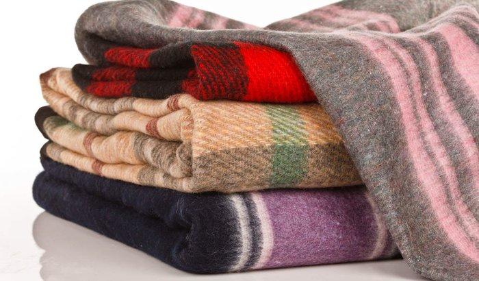 Cobertores para moradores de rua!