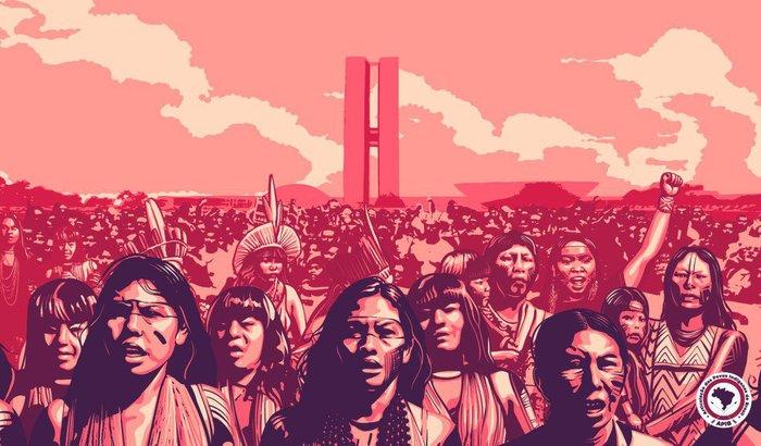 Apoie o 1ª Marcha de Mulheres Indígenas