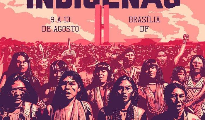 Marcha para as Mulheres Indígenas - Mulheres Shanenawa