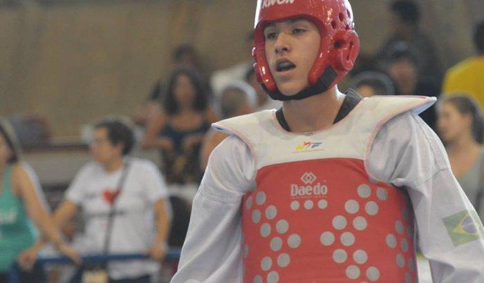 Marrentinho no Mundial de Taekwondo 2016