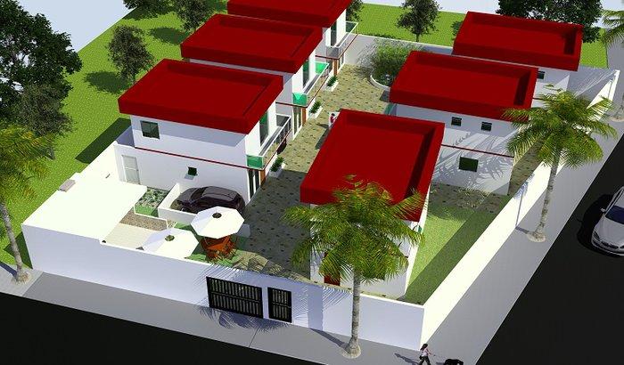 Término da obra de mini condomínio em Cabo Frio