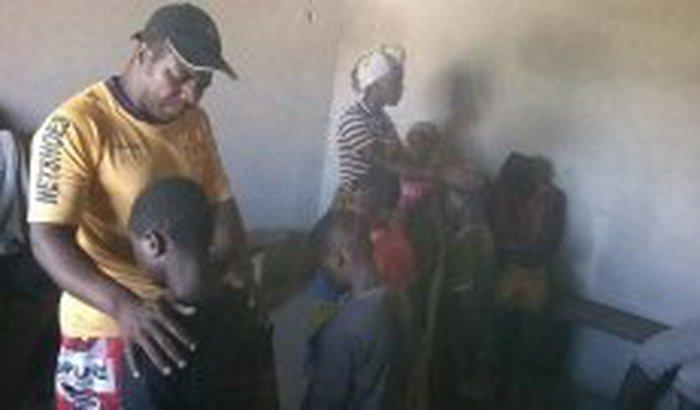 Alfabetização de crianças na África